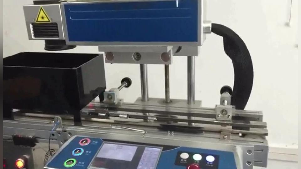 激光喷码机在电池厂的应用