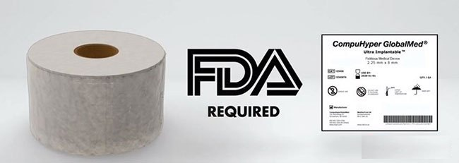 安田喷码机FDA在医疗器械上UDI喷码标识方案-特卫强®喷码机材质Tyvek®