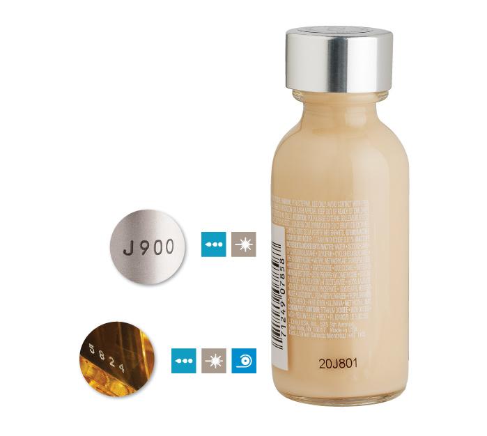 医疗行业灌装瓶一物一码,生产日期、保质期、批号喷码